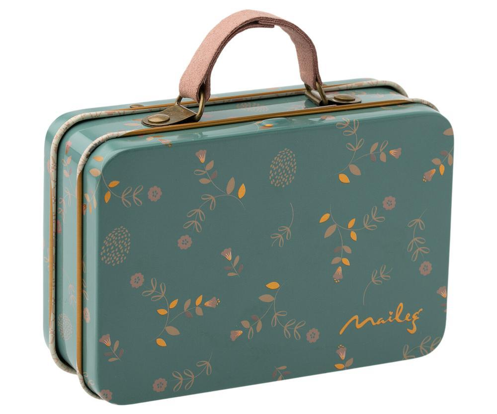 Little maileg play metal suitcase in elia
