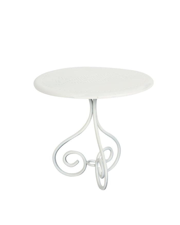 Little maileg play mini coffee table in off white