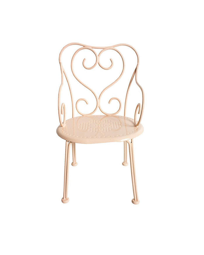 Little maileg play mini romantic chair in powder