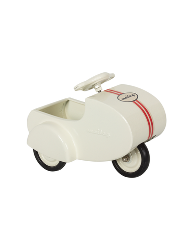 Little maileg play mini scooter in white