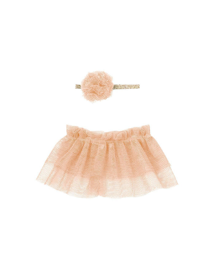 Little maileg play mini tutu + headband in rose