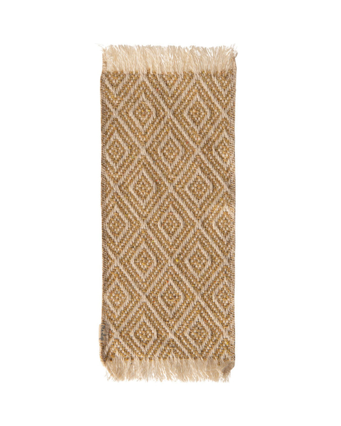 Little maileg play miniature rug in mustard