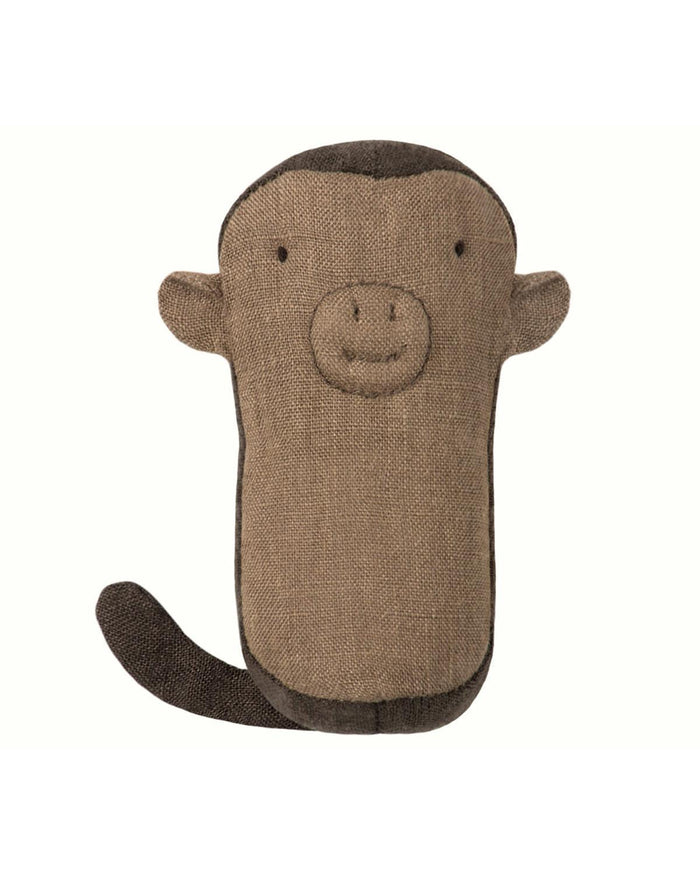 Little maileg play monkey rattle