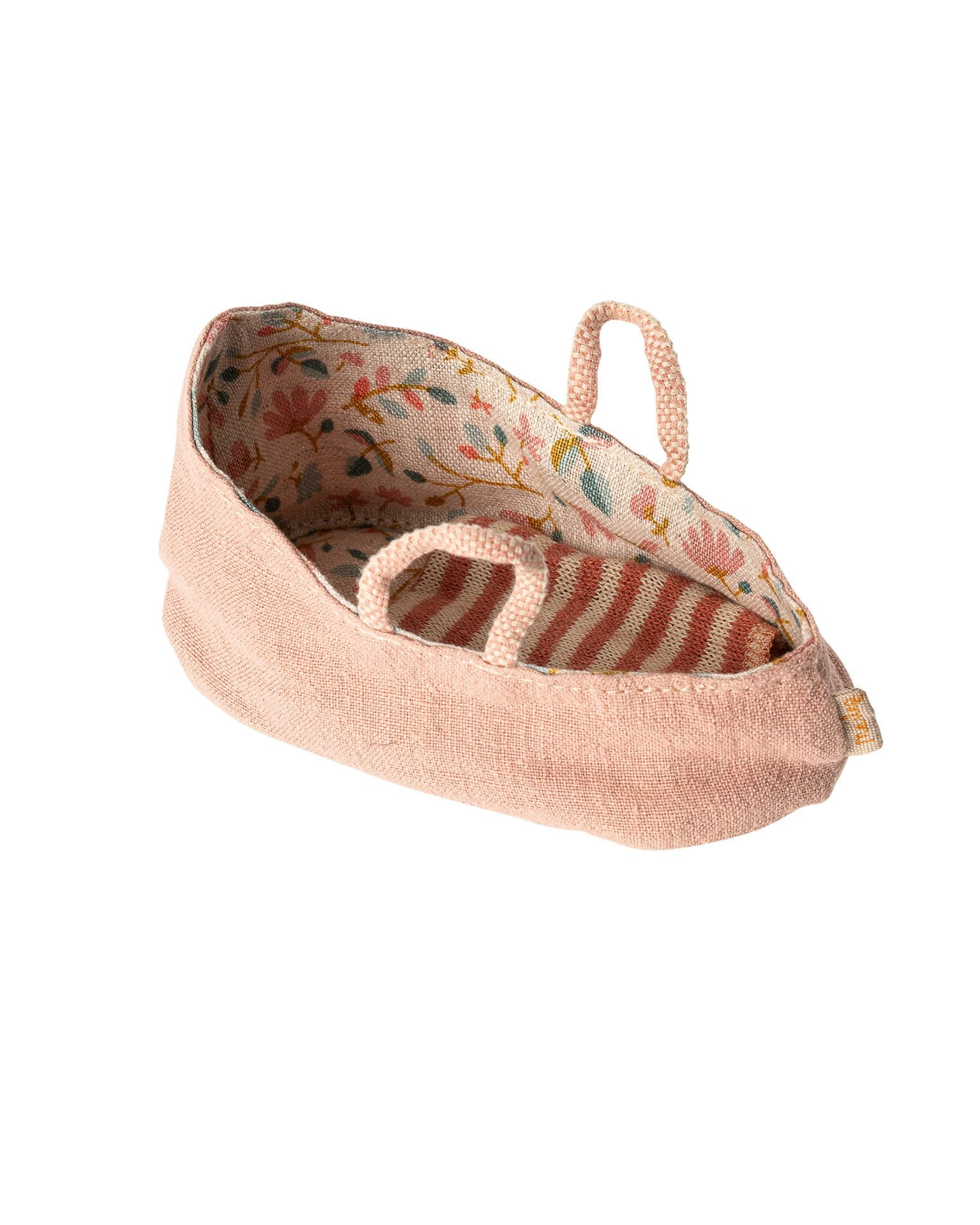Little maileg play my carry cot in misty rose