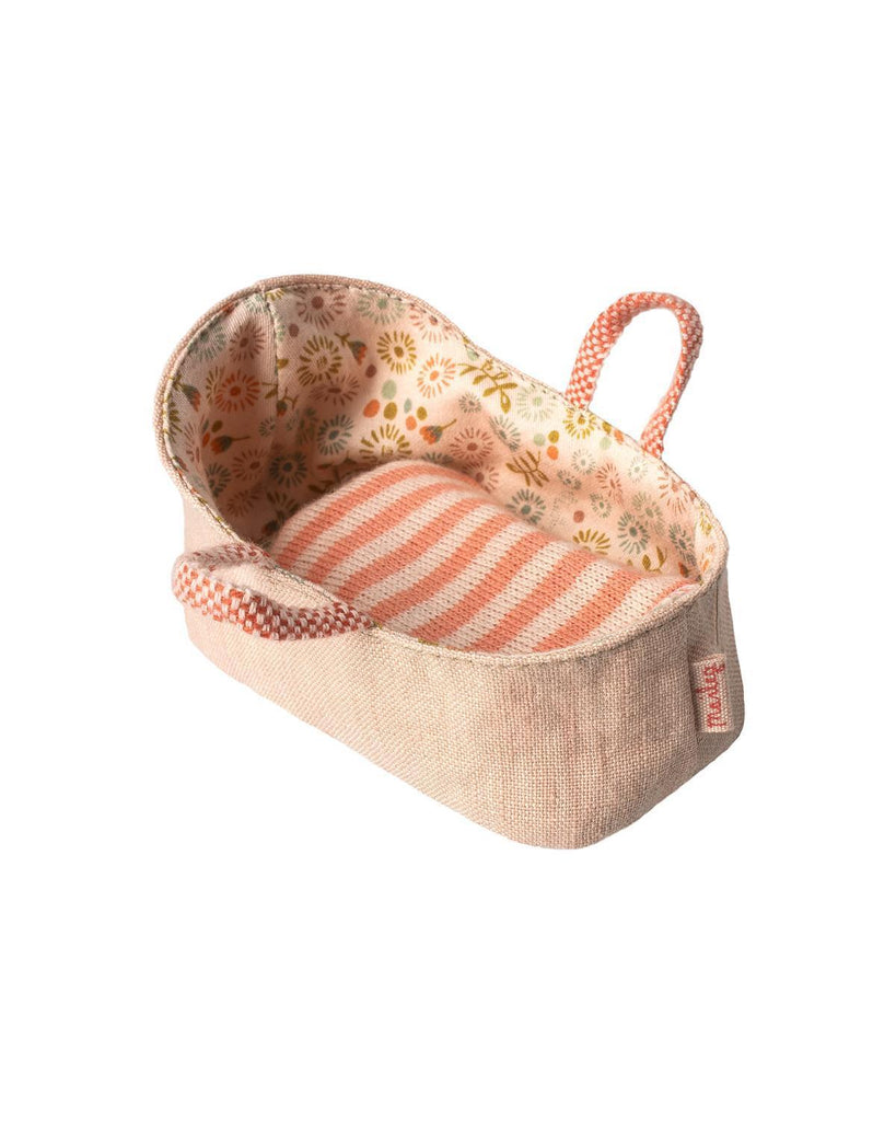 Little maileg play my carry cot in rose