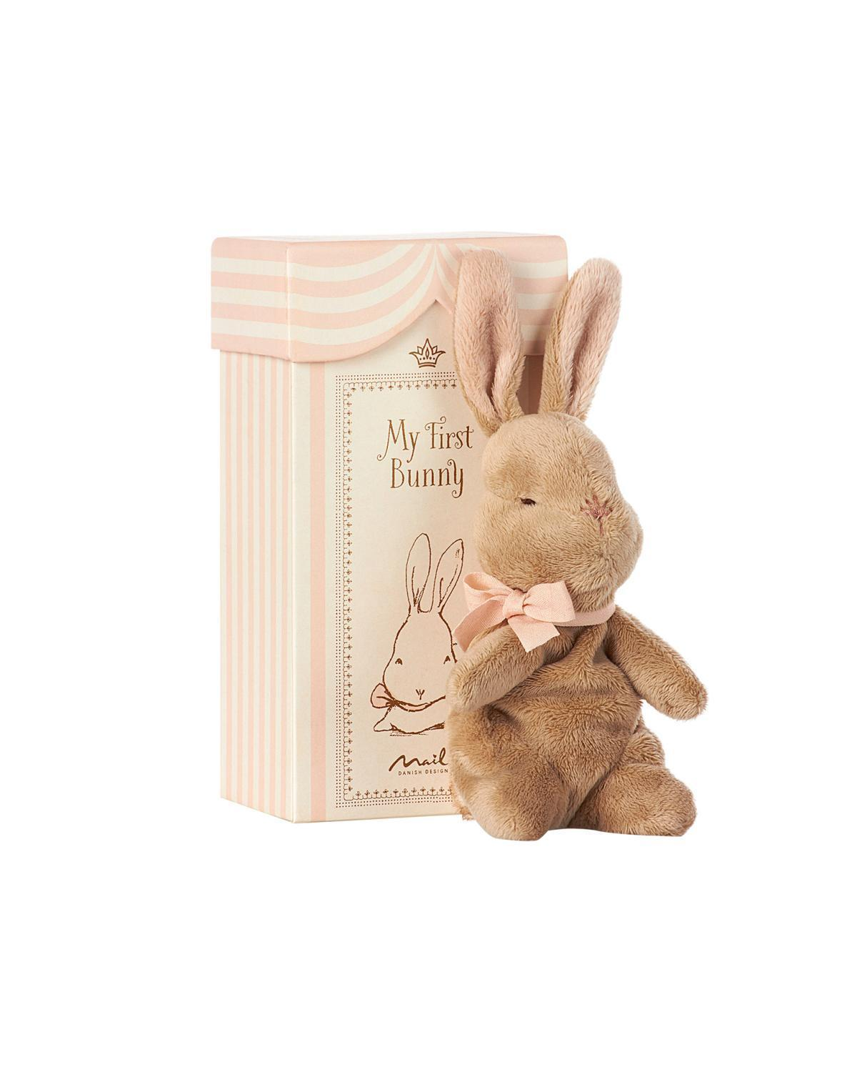 Little maileg play My First Bunny in Rose