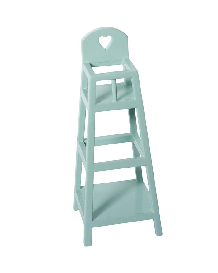 Little maileg play my high chair in light blue