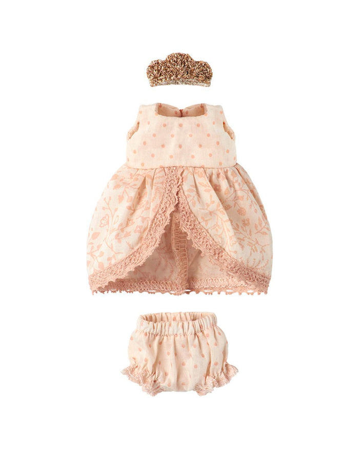 Little maileg play Princess Dress in Rose