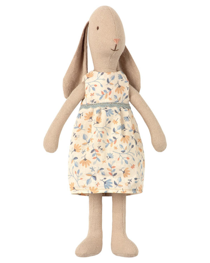 Little maileg play size 2 bunny in flower dress