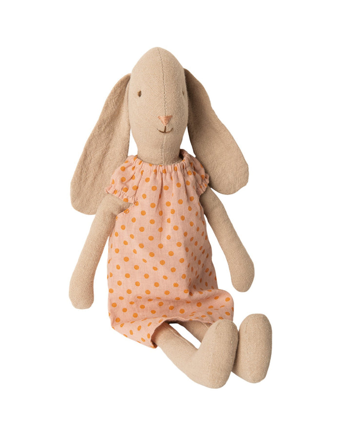 Little maileg play size 2 bunny in rose nightgown