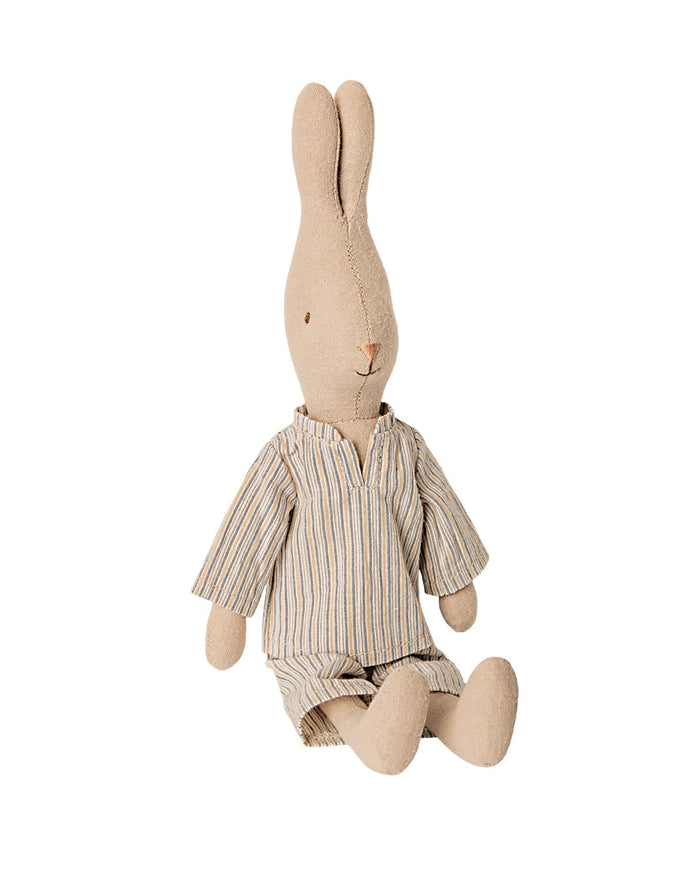 Little maileg play size 2 rabbit in pyjamas