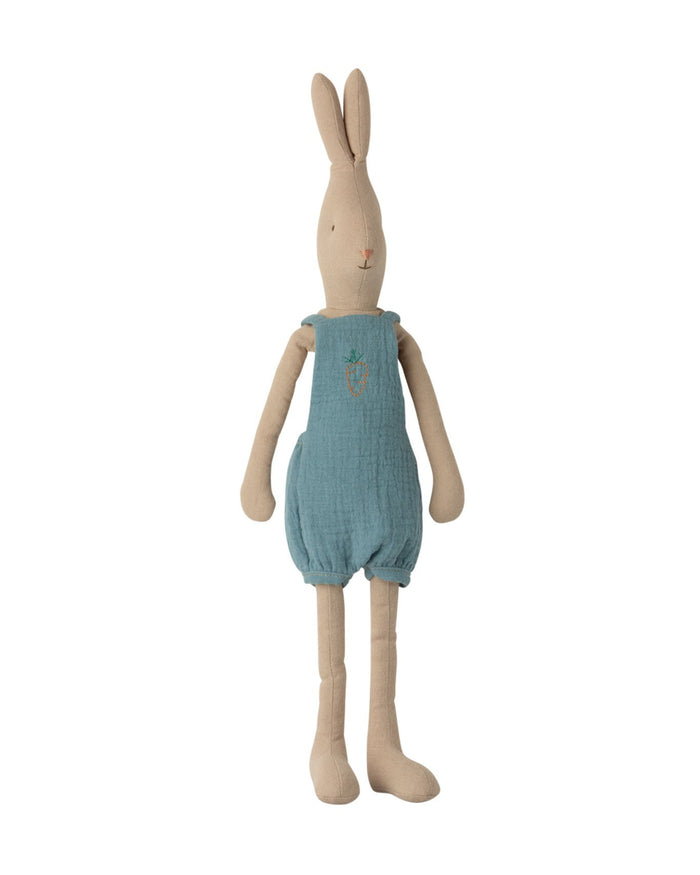 Little maileg play size 3 rabbit in overall