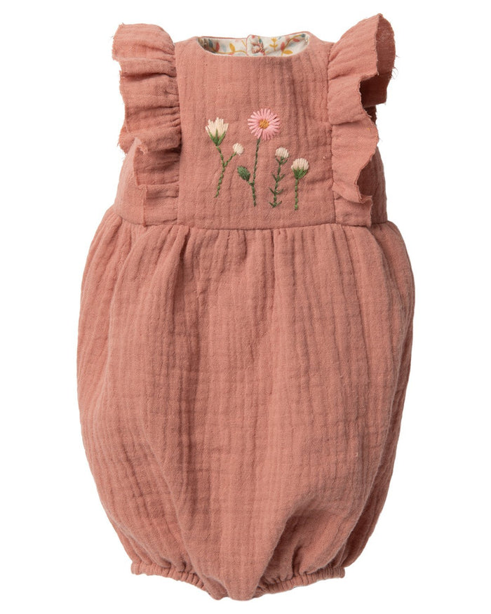 Little maileg play size 5 bunny in rose jumpsuit