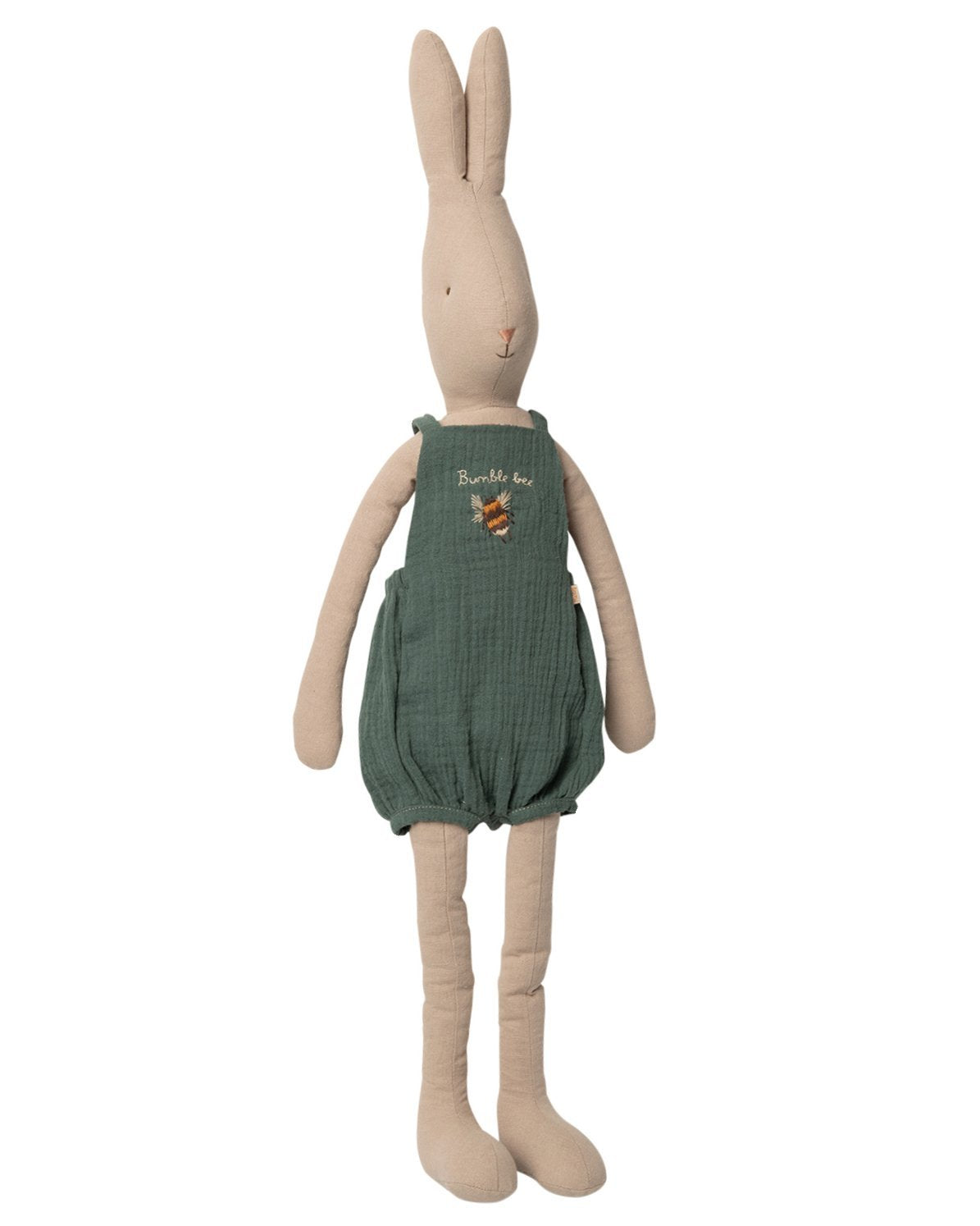 Little maileg play size 5 rabbit in overalls