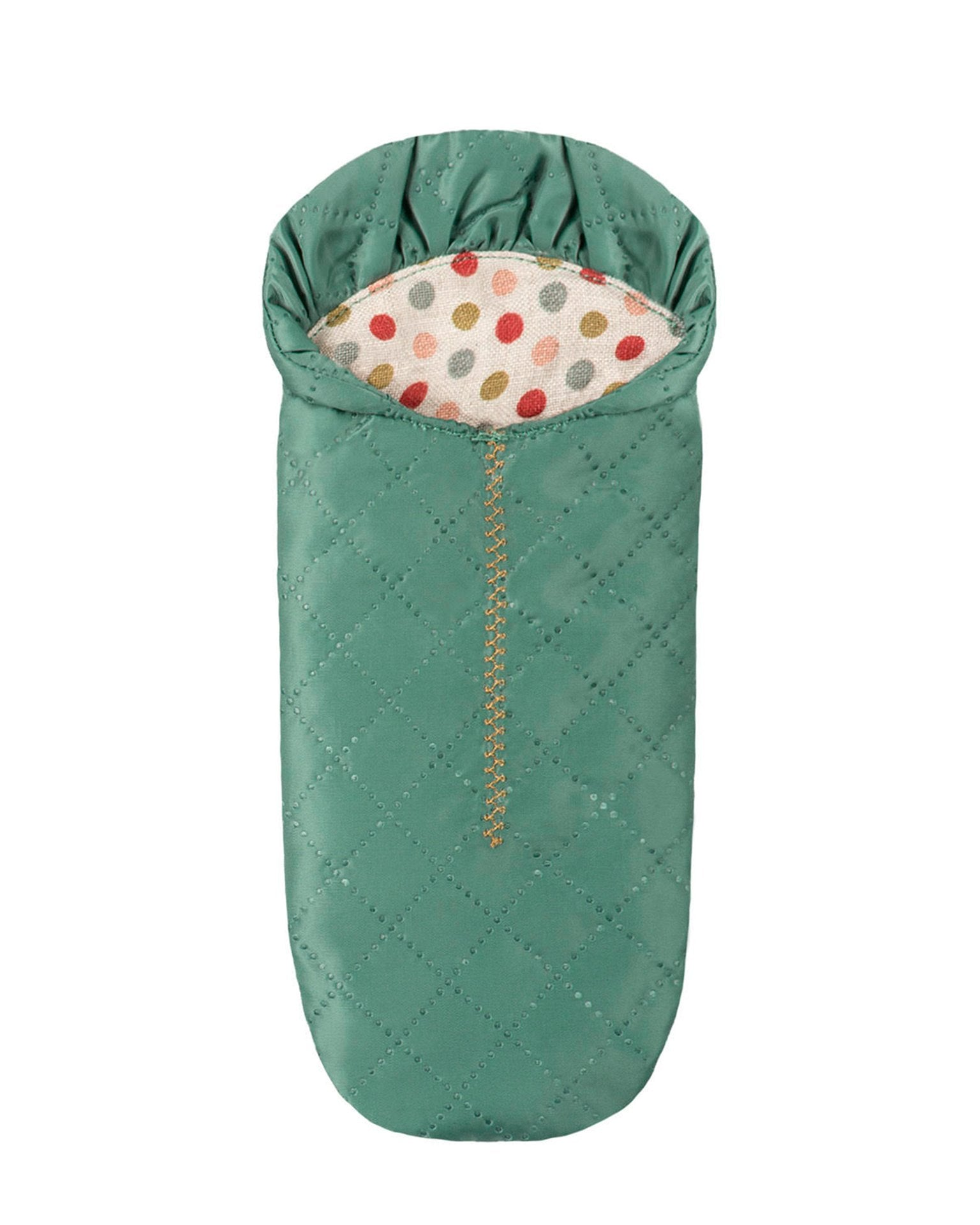 Little maileg play sleeping bag (mouse) in petrol
