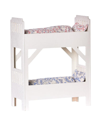Little maileg play small bunk bed in off white