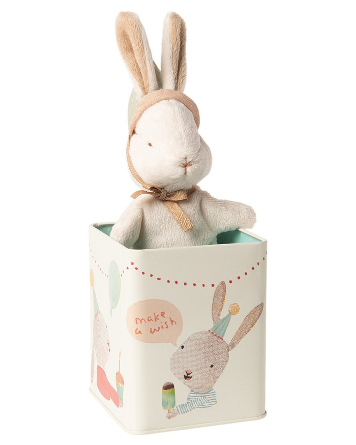 Little maileg play small happy day bunny in box