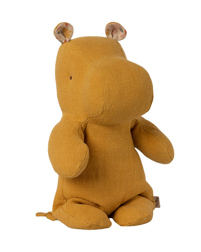 Little maileg play small hippo in dusty yellow