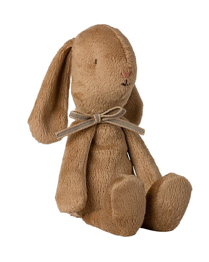 Little maileg play small soft bunny in brown