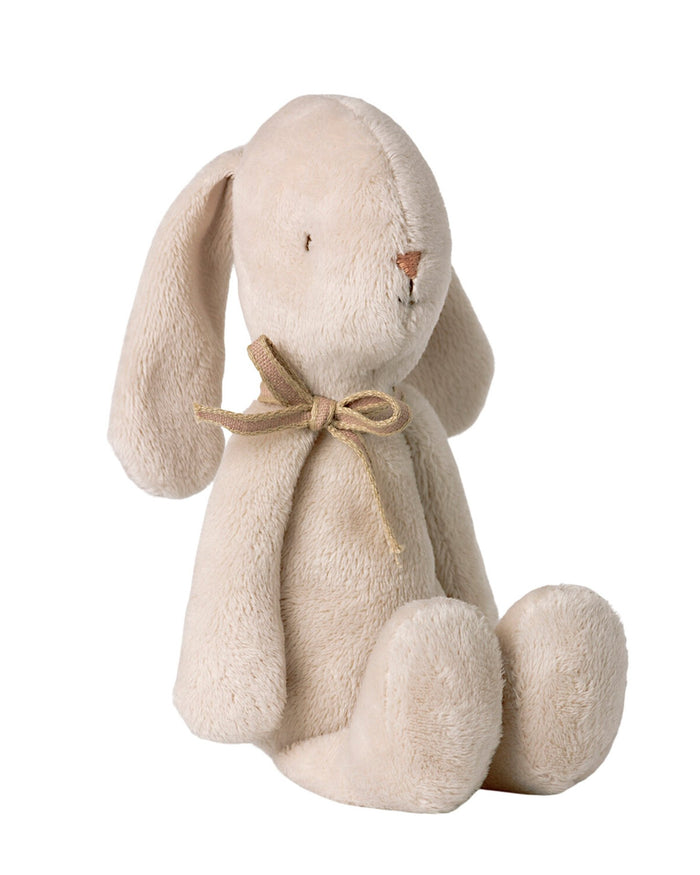 Little maileg play small soft bunny in off-white