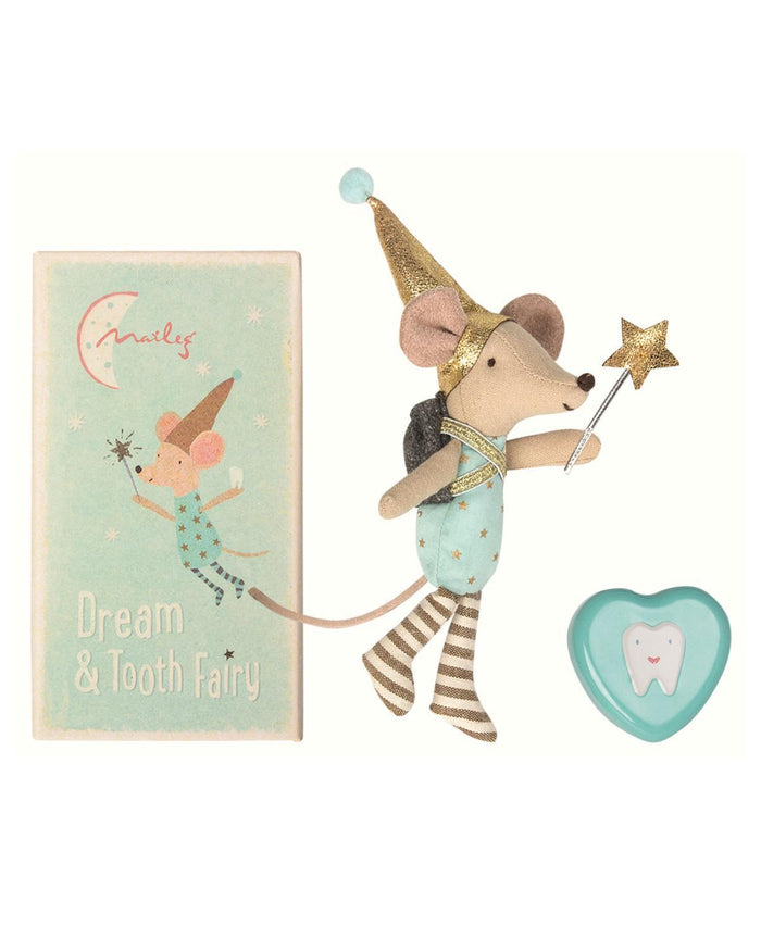 Little maileg play tooth fairy big brother mouse