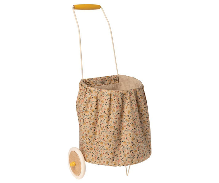 Little maileg play trolley - flower