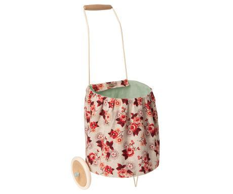 Little maileg play trolley - rose