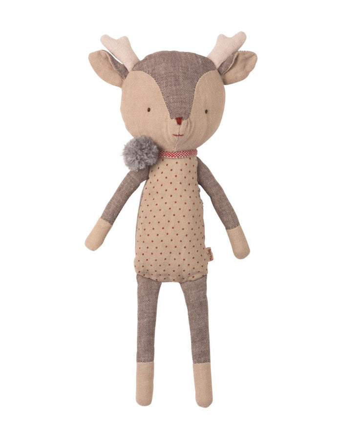 Little maileg play winter friends girl reindeer