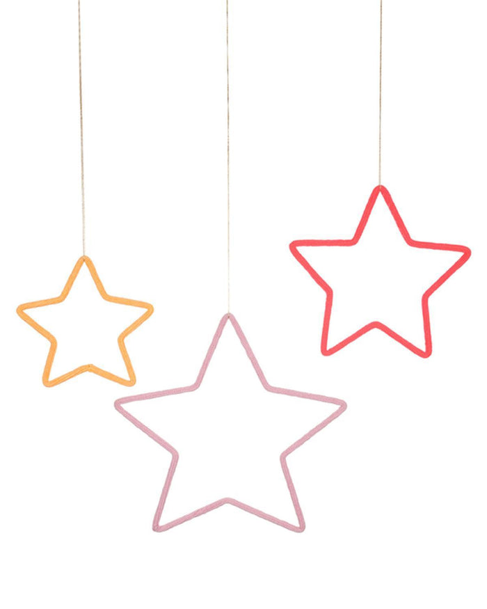 Little meri meri room 3 stars wall decoration