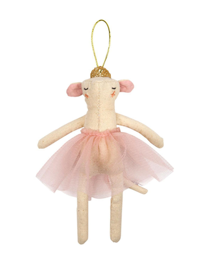 Little meri meri room ballerina mouse tree decoration
