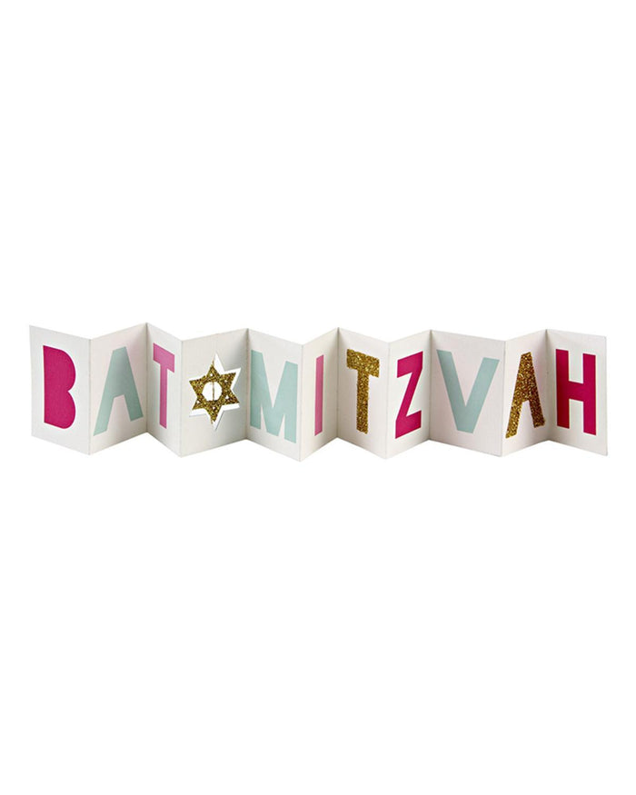 Little meri meri paper+party Bat Mitzvah Mini Card
