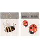 Little meri meri paper+party bee + ladybird small tattoos
