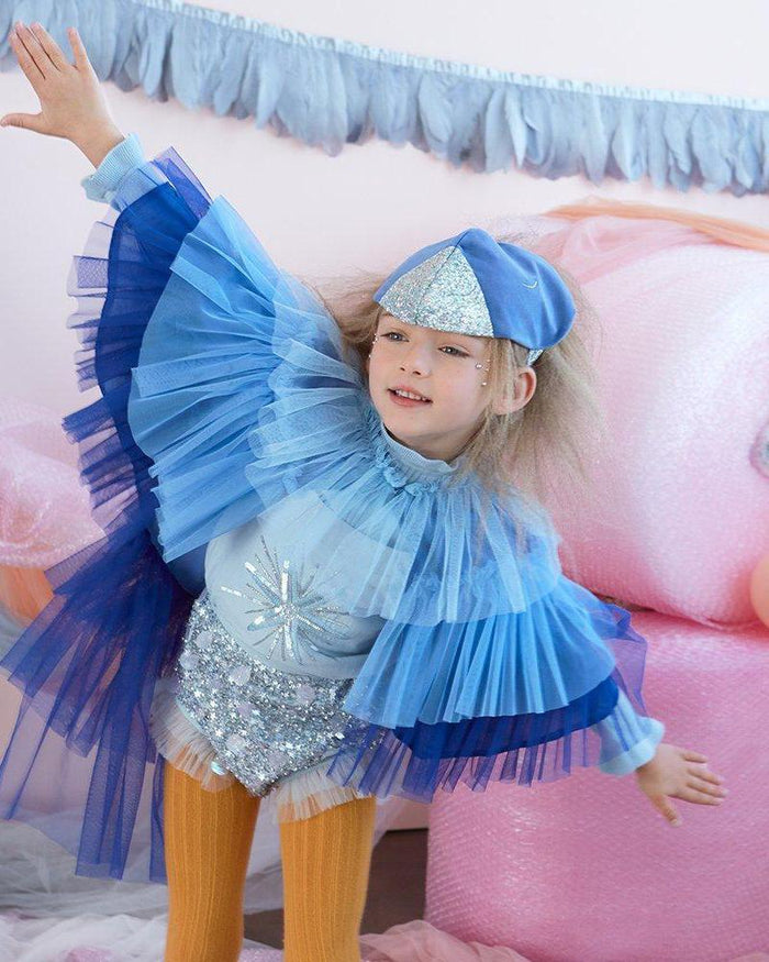 Little meri meri play blue bird cape dress up set