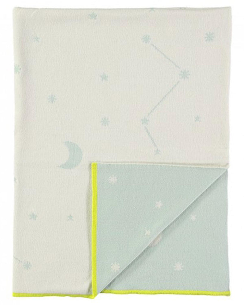 Little meri meri room Blue Constellation Blanket