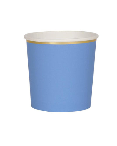Little meri meri paper+party blue tumblers
