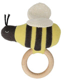 Little meri meri baby accessories bumblebee baby rattle