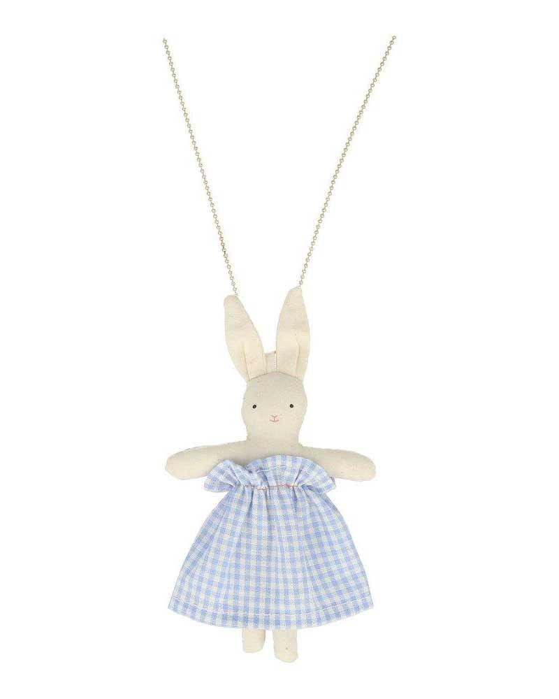 Little meri meri accessories bunny doll necklace