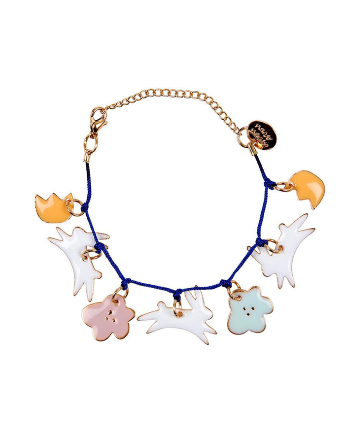 Little meri meri accessories bunny enamel bracelet