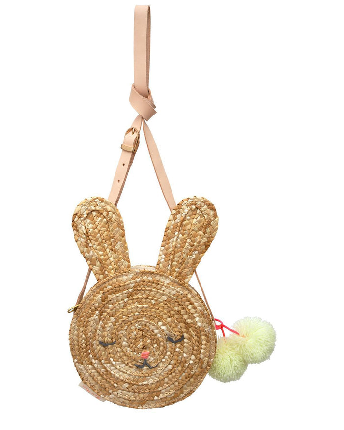 Little meri meri accessories bunny straw bag