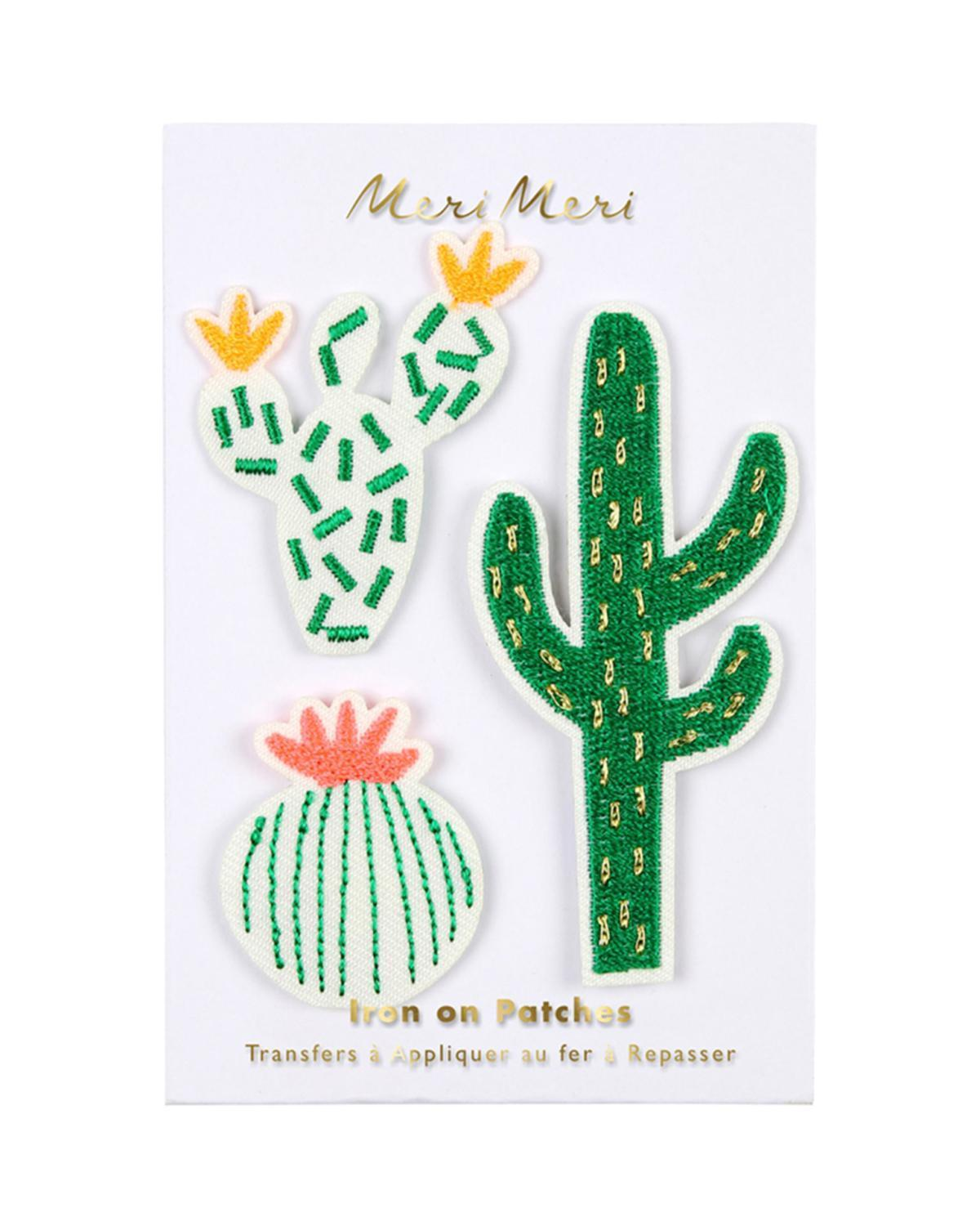 Little meri meri accessories cactus patches