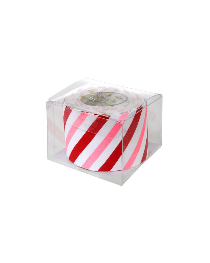 Little meri meri paper+party Candy Stripe Paper Ribbon