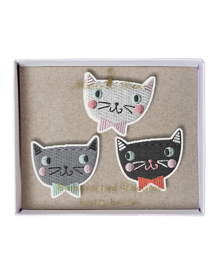 Little meri meri accessories Cat Brooches