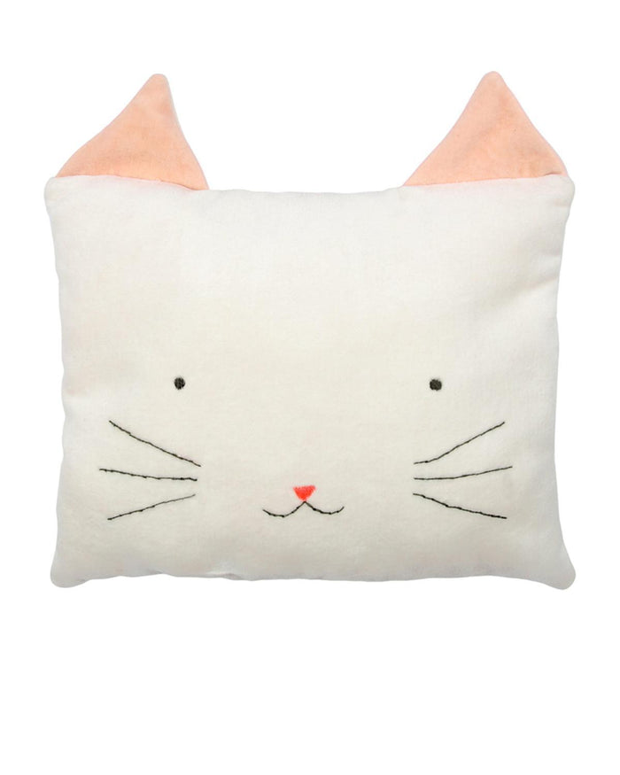 Little meri meri room cat cushion