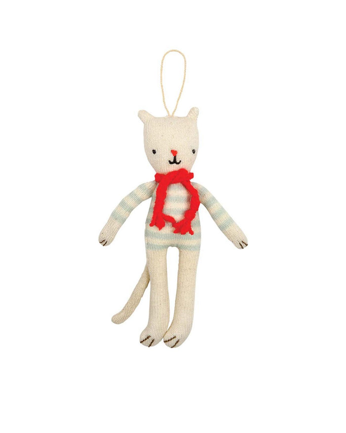 Little meri meri room Cat Knit Ornament