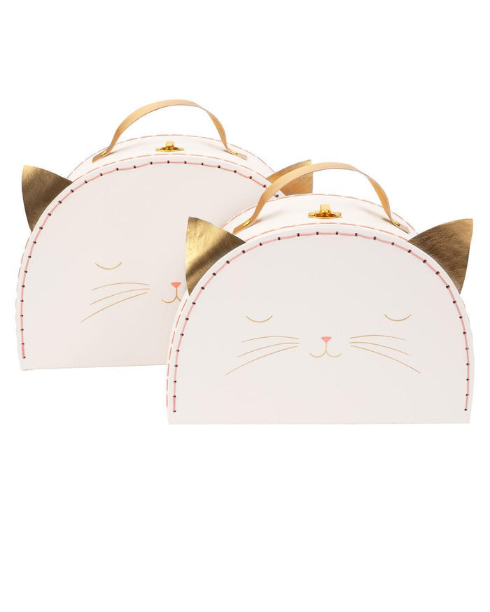 Little meri meri room cat suitcase set