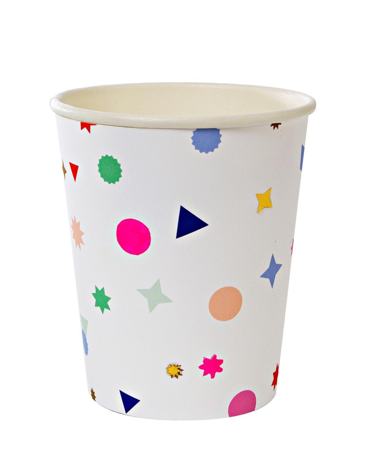 Little meri meri paper+party Charms Party Cups