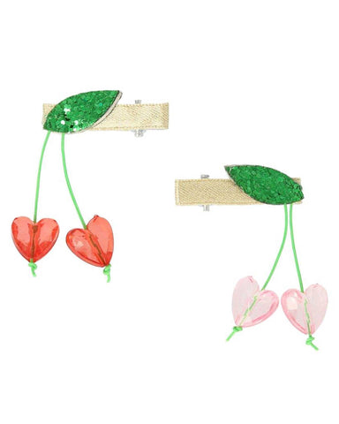 Little meri meri accessories cherry bead hair clips