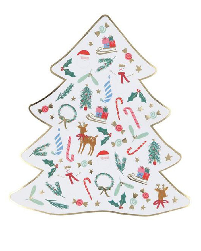 Little meri meri paper+party christmas mini sticker sheets