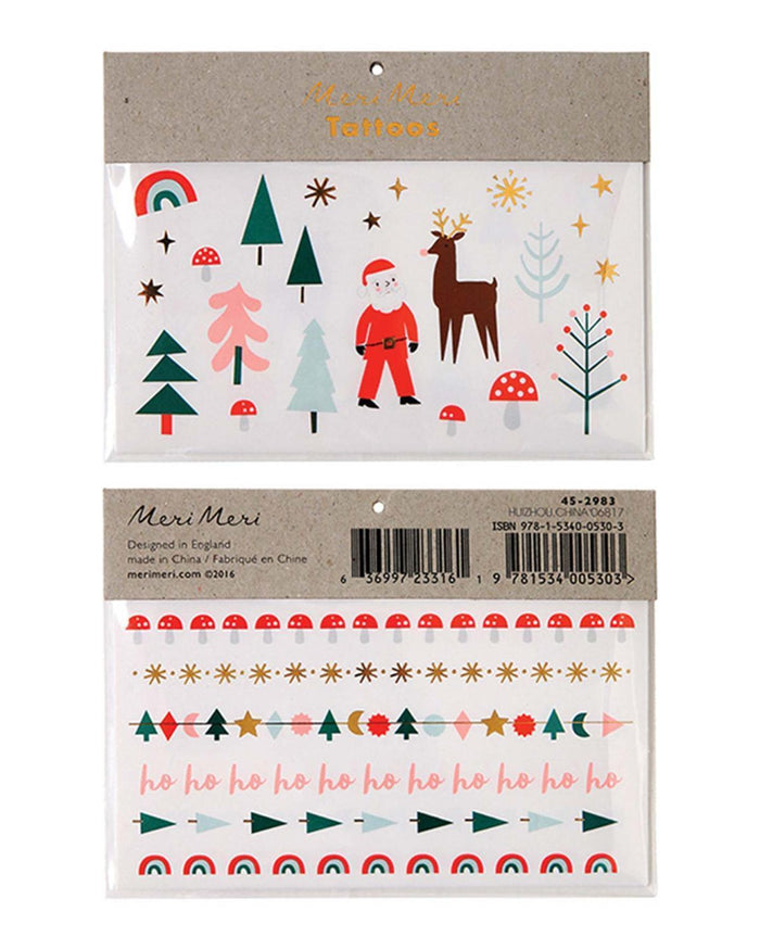Little meri meri paper+party Christmas Tattoos