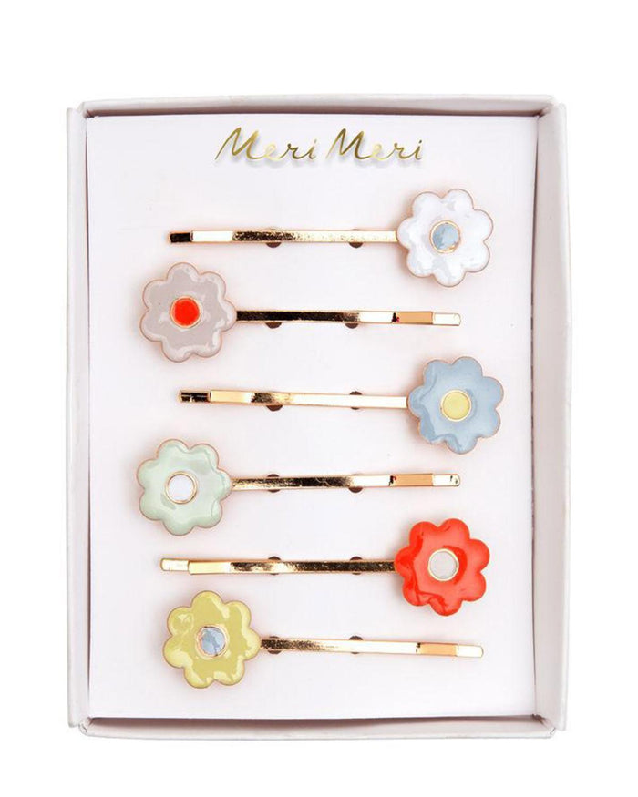 Little meri meri accessories daisy enamel hair slides